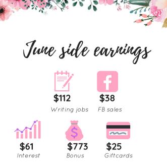 June side earnings